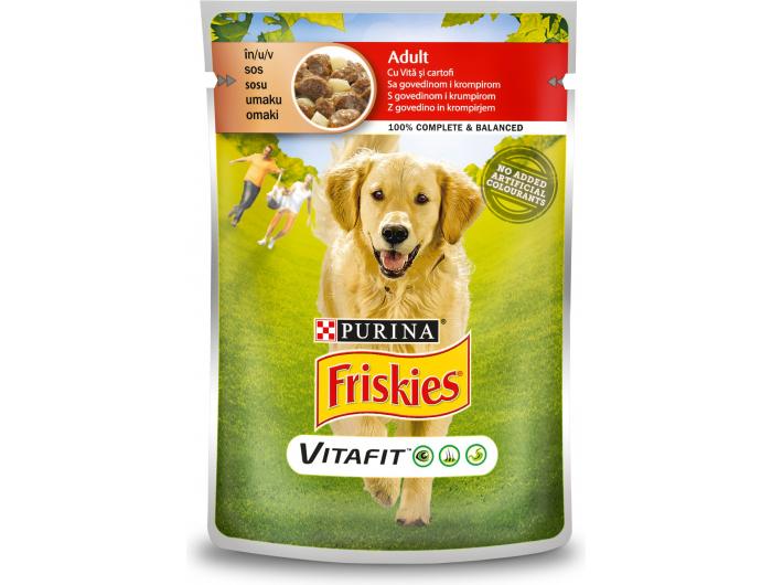 Friskies Purina Hrana za pse govedina s krumpirom 100 g