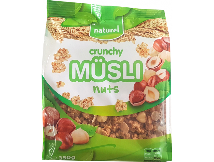 Naturel Musli crunchy nuts 350 g
