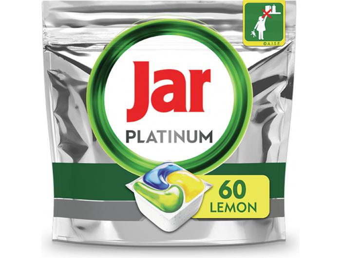 Jar Platinum Tablete za strojno pranje posuđa 60 kom