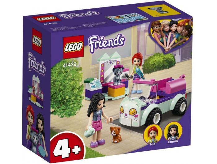 Lego Friends Salon za dotjerivanje mačaka na kotačima