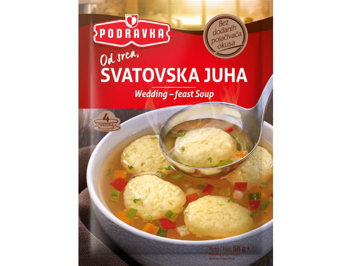Podravka Svatovska instant juha 58 g