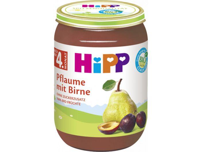 Dječja hrana, 220 g, šljiva/kruška, Hipp