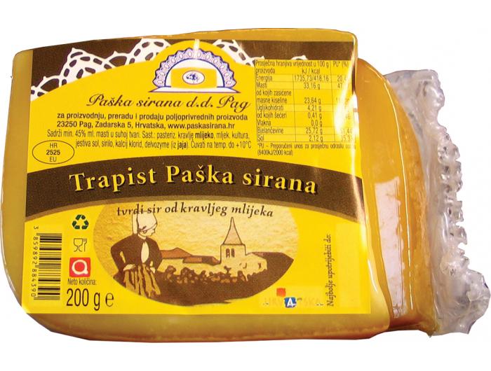 Paška sirana Trapist sir 200 g
