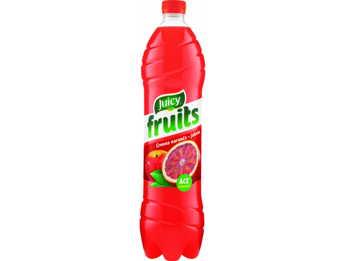 Juicy fruits Negazirano piće crvena naranča 1,5 L