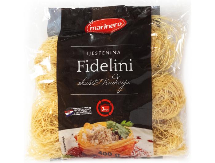 Marinero tjestenina fidelini 400 g