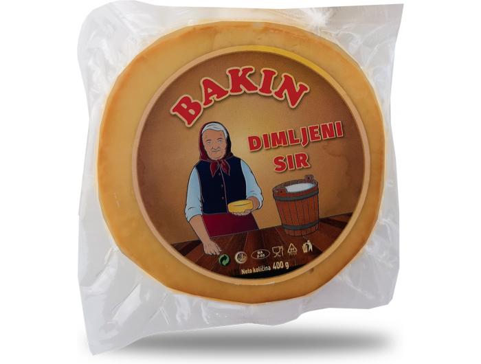 Bakin dimljeni sir 400 g