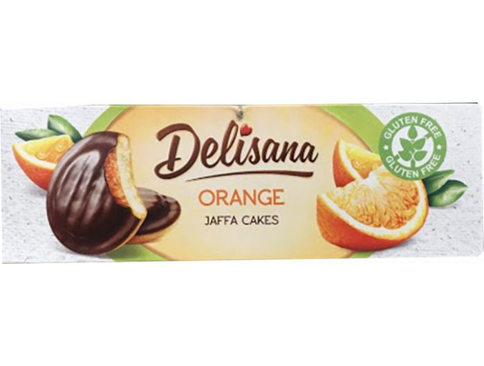 Čokoladni desert, 150 g, bez glutena, naranča, Delisana