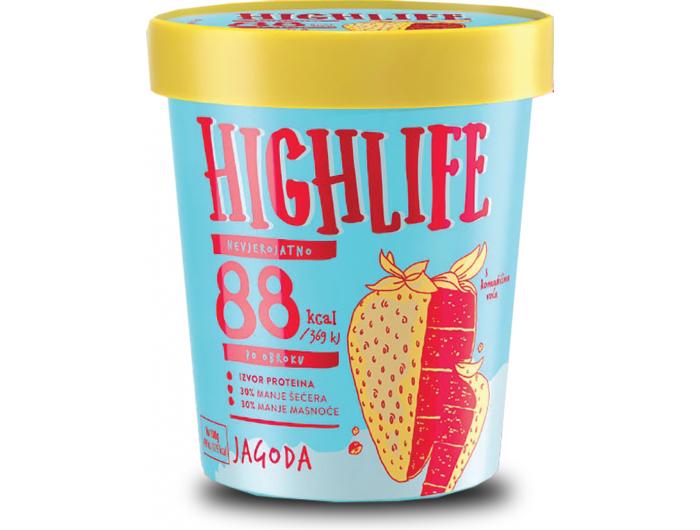 Ledo Highlife sladoled jagoda 460 ml