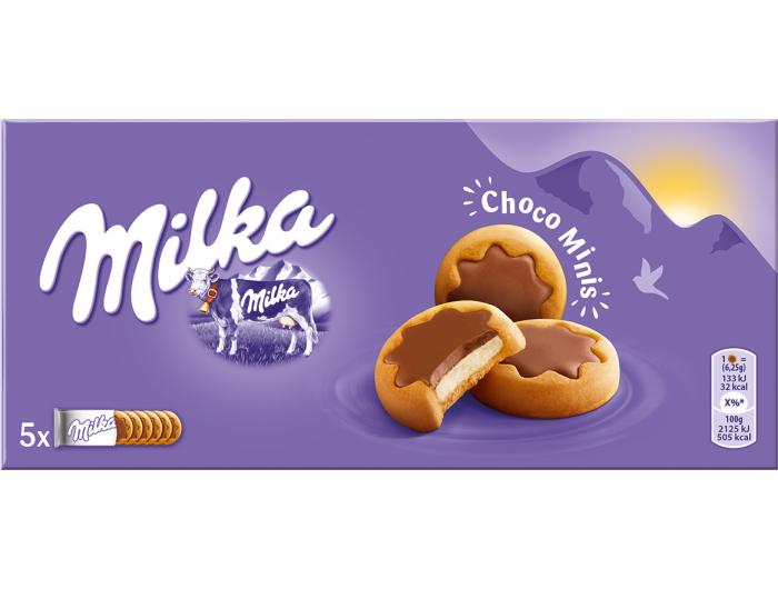 Milka choco minis keks 150 g