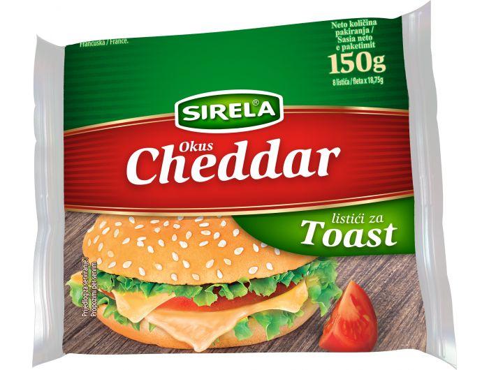 Dukat Sirela Cheddar sir topljeni 150 g