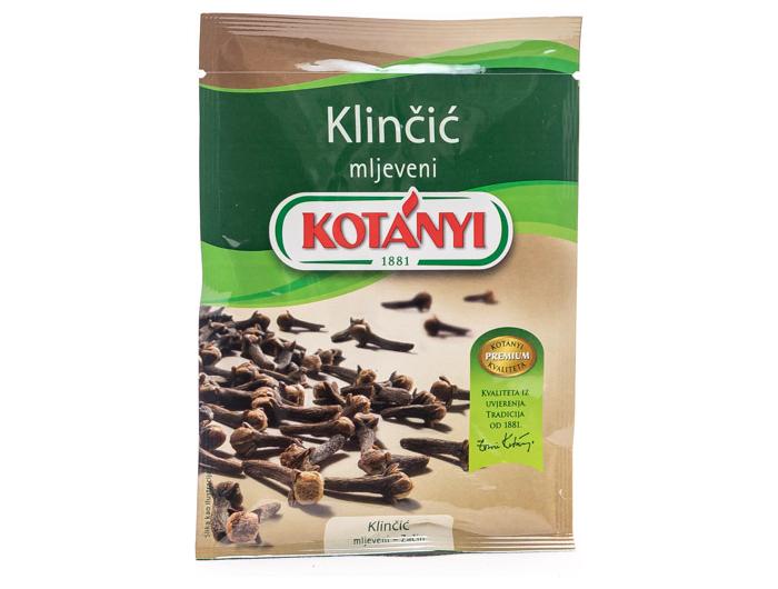 Kotanyi mljeveni klinčić 20 g