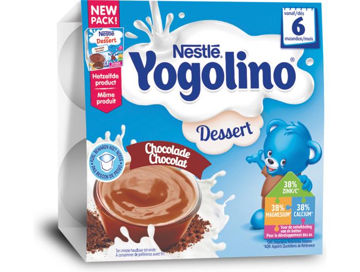 Nestlé Yogolino mliječni desert s čokoladom 6 +mj. 400 g