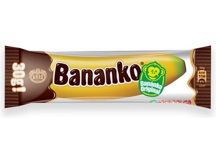 Kraš Bananko čokoladni desert 30 g
