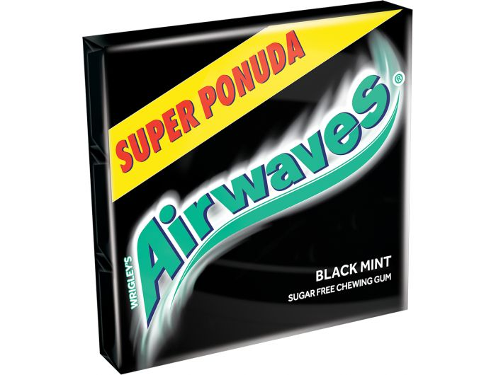 Airwaves Black mint žvakaća guma