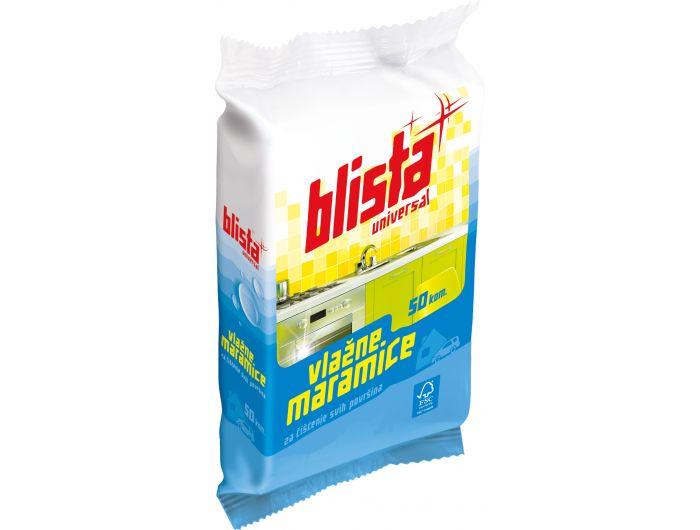 Blista Universal Maramice vlažne za čišćenje svih površina 50/1