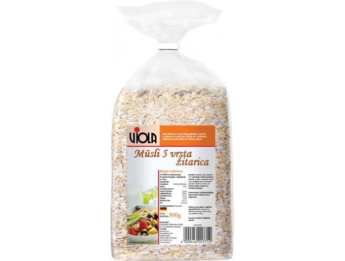 Viola muesli 5 vrsta žitarica 500 g