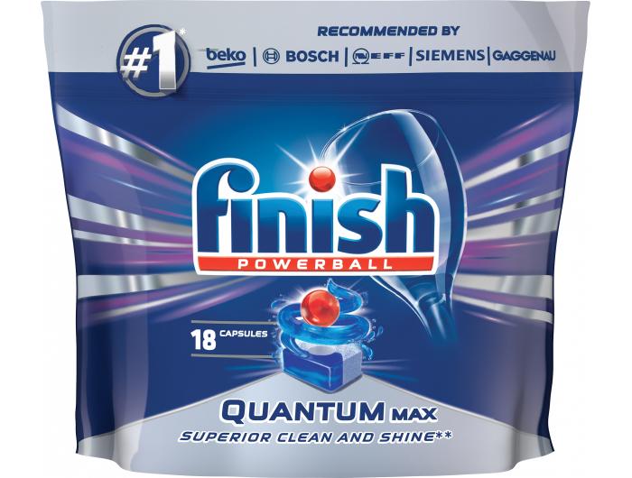 Finish deterdžent za strojno pranje posuđa Quantum max 18 kom