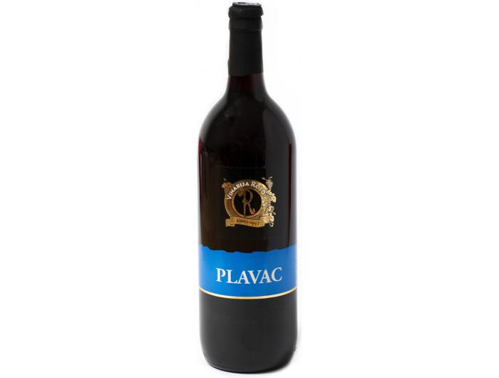 Vinarija Roso Plavac kvalitetno crno vino 1 L
