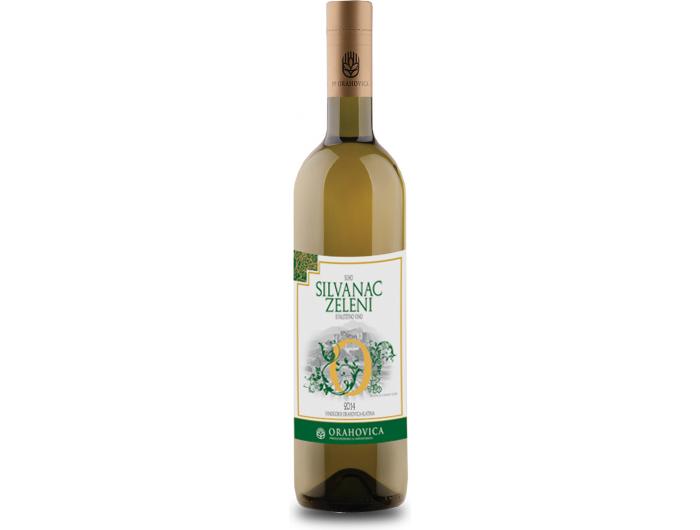 Orahovica Silvanac zeleni vrhunsko vino 0,75 L