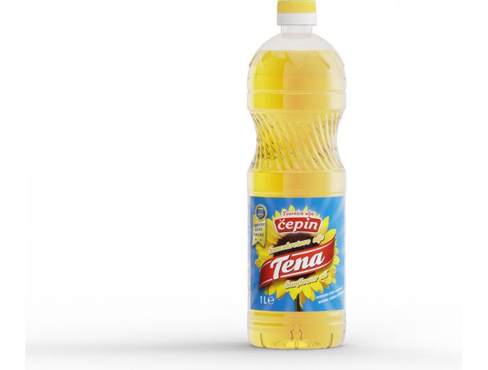 Čepin Tena suncokretovo ulje 1 L