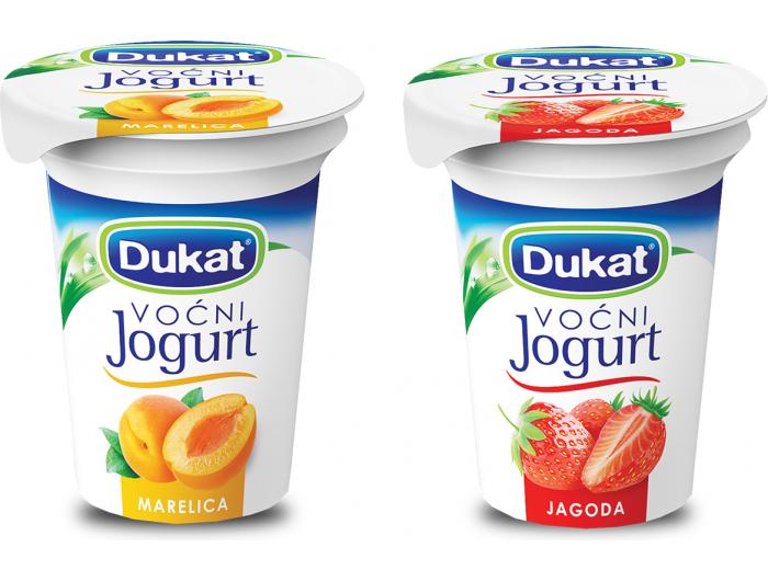 Dukat jogurt voćni mix 150 g