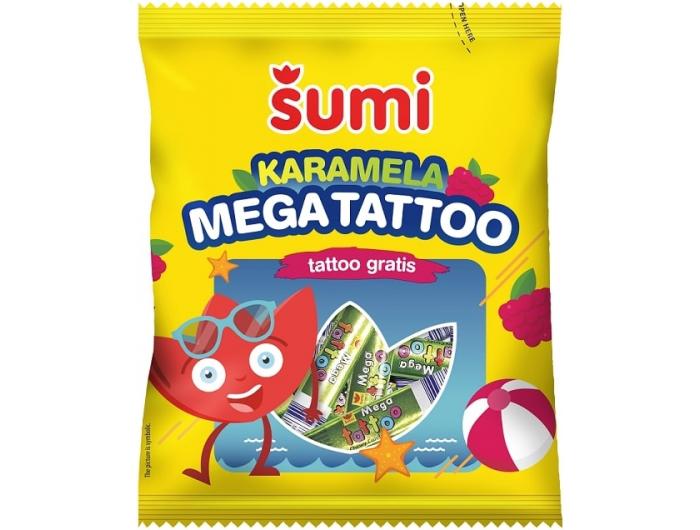 Sumi Mega Tattoo bomboni 74 g