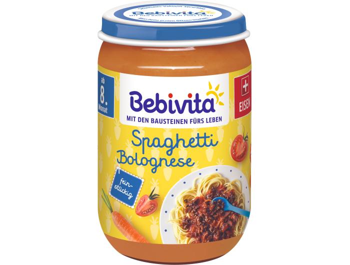 Bebivita Dječji obrok Spaghetti bolognese 220 ml