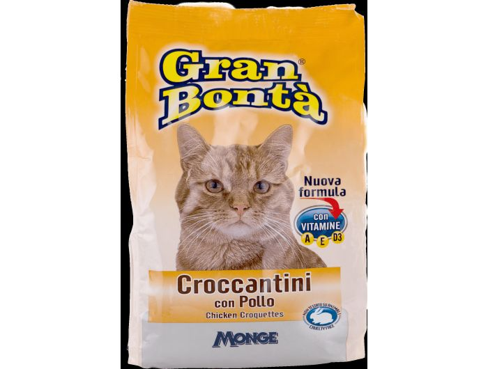 Gran Bonta hrana za mačke pileći kroketi 400 g
