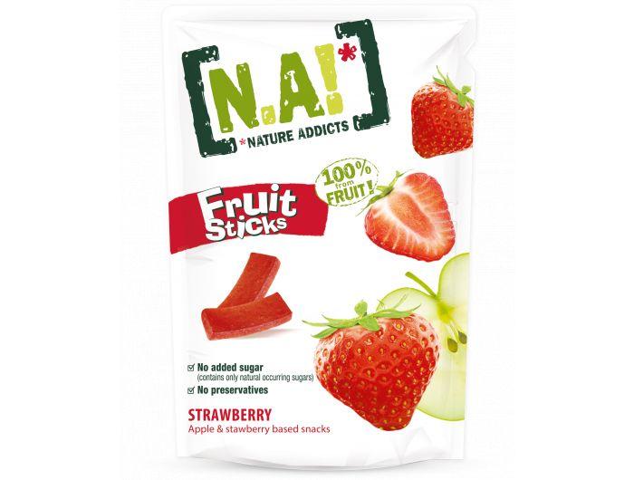 Nature Addicts voćni prutići  jabuka i jagoda 35 g