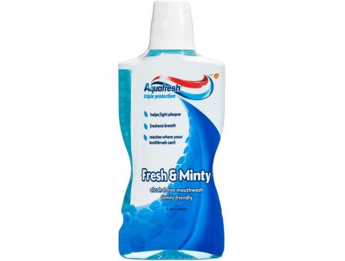Aquafresh Vodica za ispiranje usta Fresh&Minty 500 ml