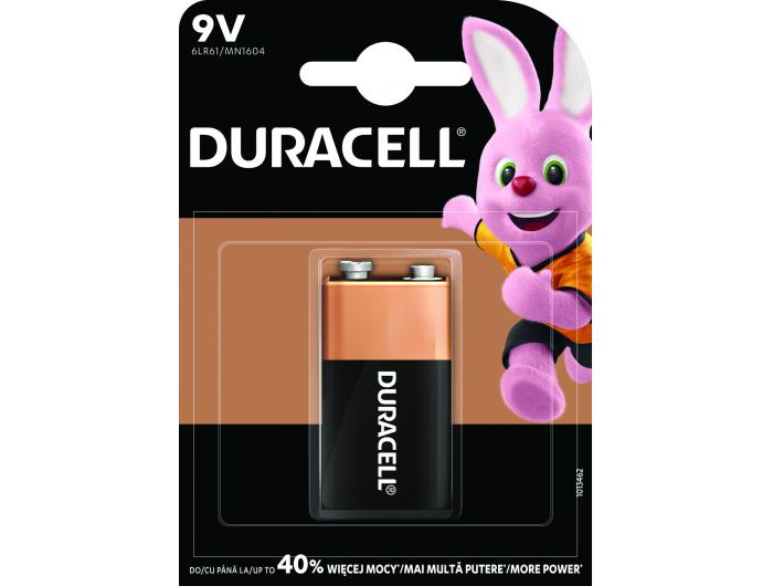 Duracell alkalna baterija basic 6 LR61 9V 1 kom