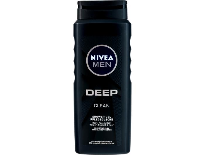 Nivea men deep gel za tuširanje 500 ml