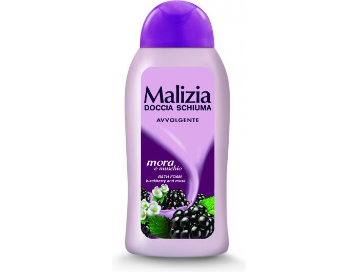 Malizia gel za tuširanje musk&blackberry 300 ml