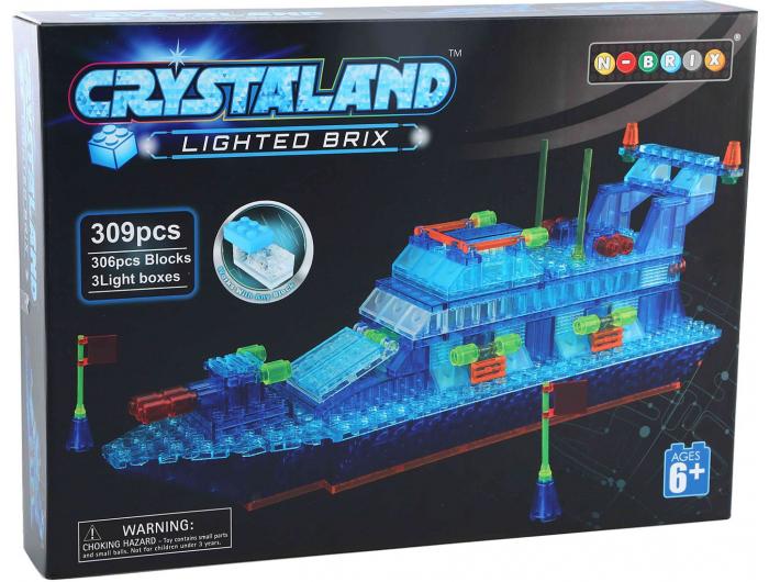 Crystal kocke Policijski brod