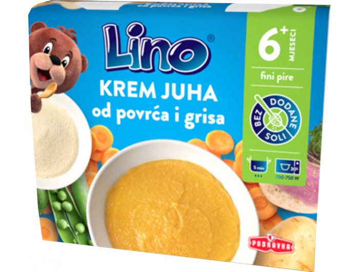 Krem juha,500 ml, Lino, Podravka