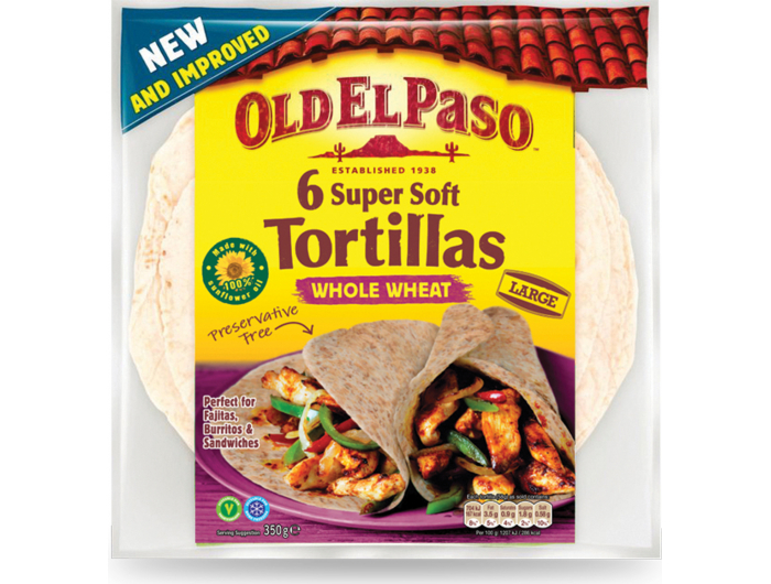 Tortilja Old El Paso integralna 350 g