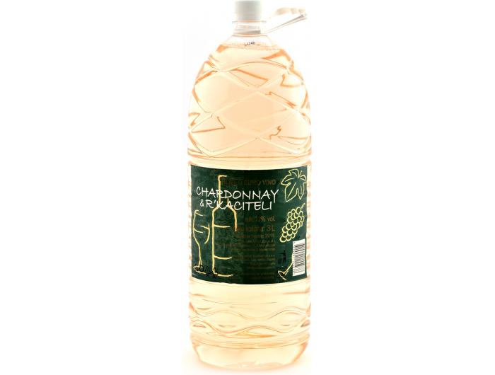 Dalvina Chardonnay & R´Kaciteli bijelo vino 3 L
