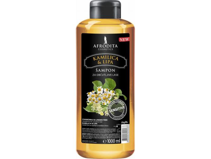 Afrodita Šampon kamilica 1 L