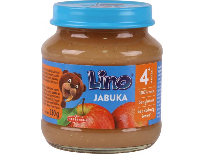 Podravka Lino Dječja kašica jabuka 130 g