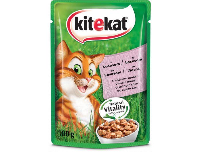 Kitekat hrana za mačke losos 100 g
