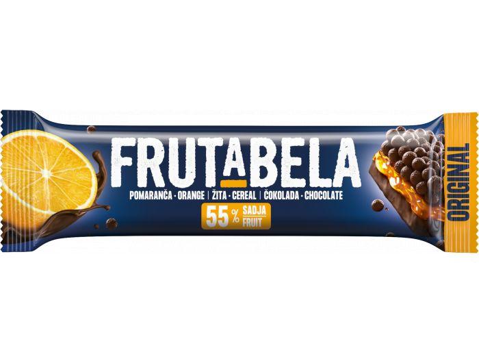 Fructal Frutabela žitna pločica s narančom i preljevom od čokolade 25 g