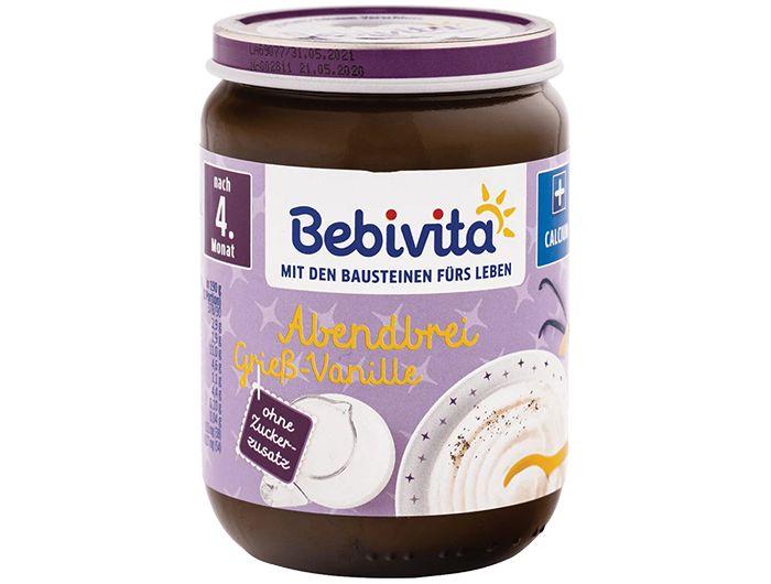 Dječja hrana, 220 g, griz/vanilija, Bebivita