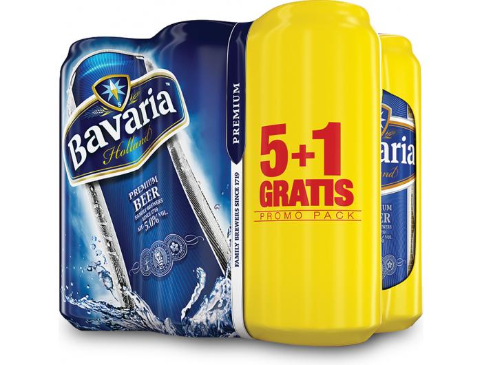Bavaria Premium Svijetlo pivo 6x0,5 L 5+1 GRATIS