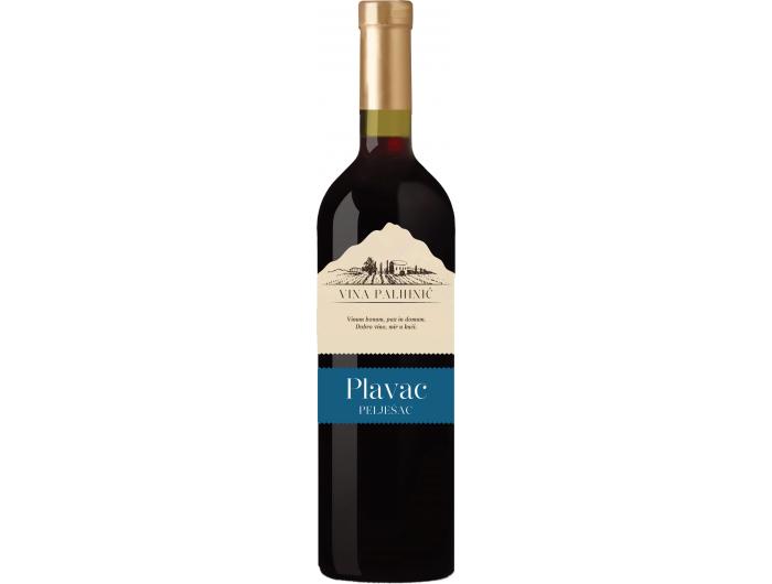 Pahlinić Pelješac Plavac kvalitetno crno vino 0,75 L