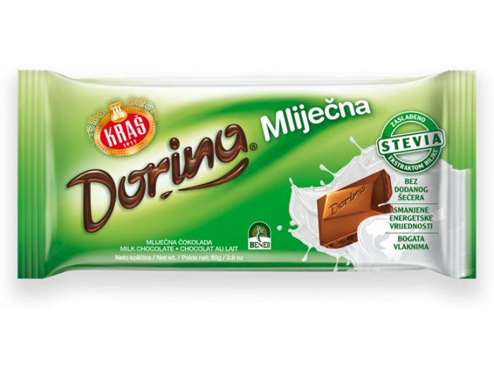 Čokolada, 80 g, bez šećera,