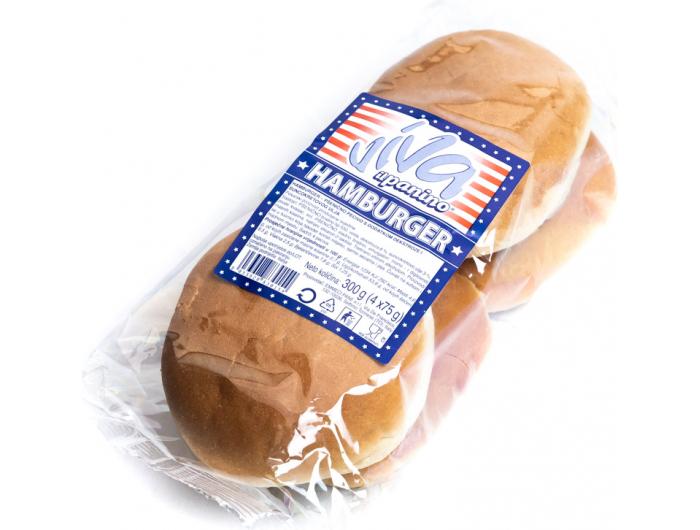 Viva pecivo hamburger 1 pak 4 kom 300 g