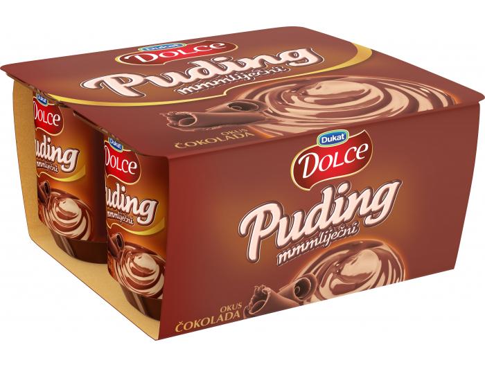 Dukat Dolce mliječni puding čokolada 1 pak 4x125 g