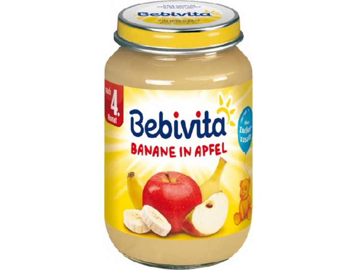 Bebivita Dječja kašica banana i jabuka 190 g
