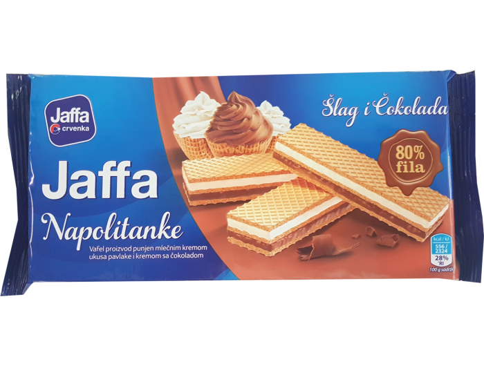 Crvenka Jaffa napolitanke šlag i čokolada 187 g