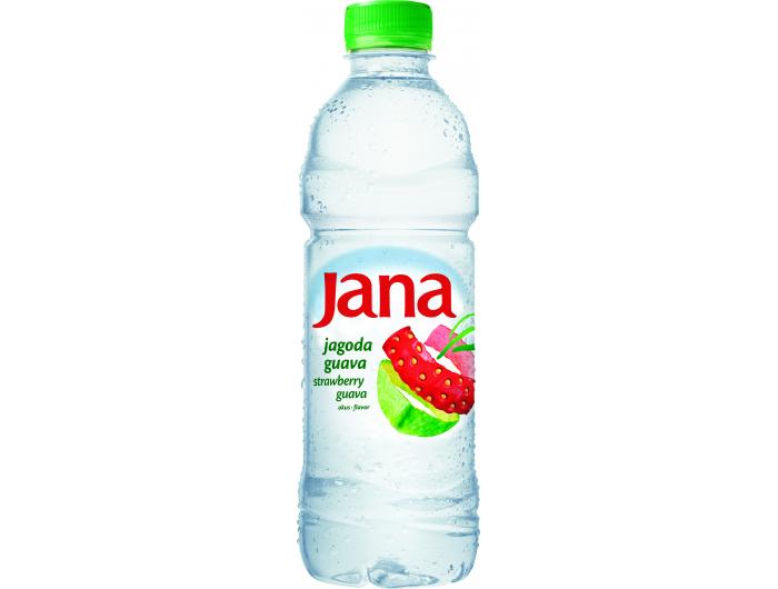 Jana voda s okusom voća jagoda-guava 0,5 L